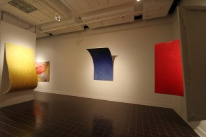 6. Peyton-Levine_Alex_ Red, Yellow, Blue, 2011 Installation view